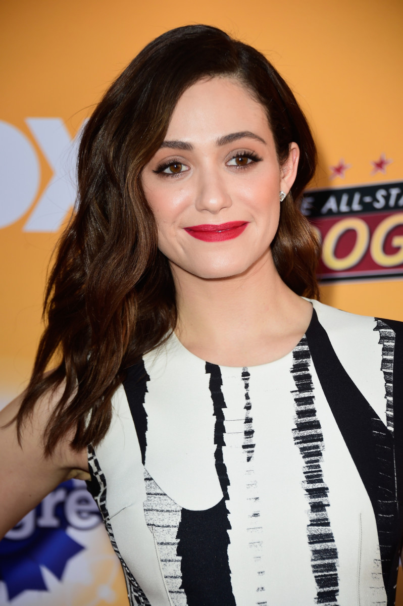 Emmy Rossum, Fox All-Star Dog Rescue Celebration, 2015