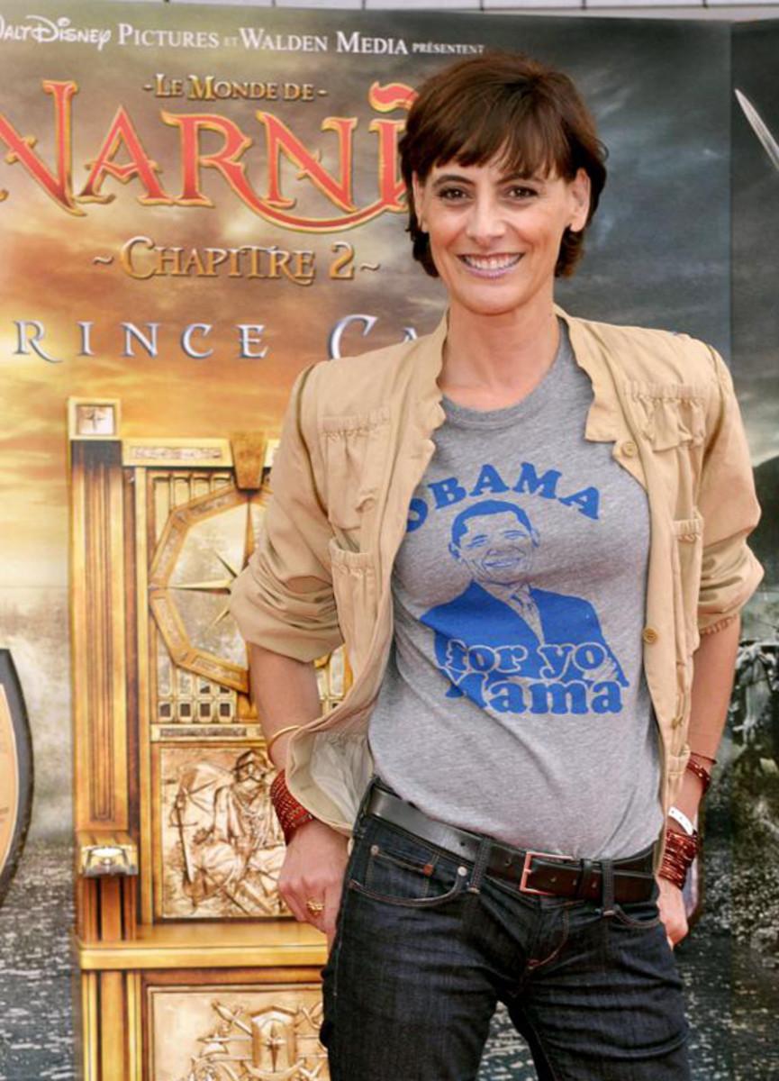 Ines de La Fressange, Le Monde de Narnia Chapitre 2 premiere, 2008