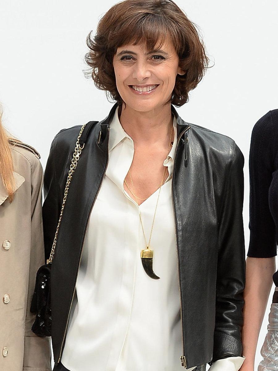 Ines de La Fressange, Chanel Fall Winter 2014 show