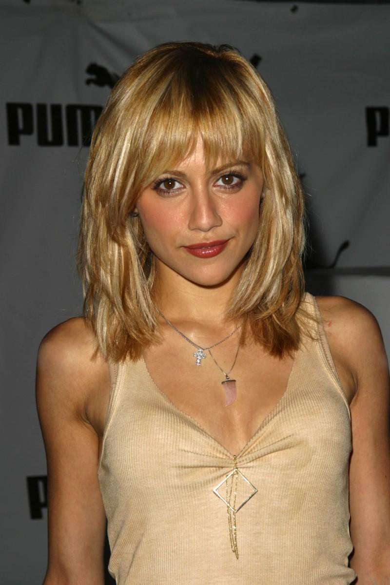 Brittany Murphy, Puma Bodywear launch party, 2004