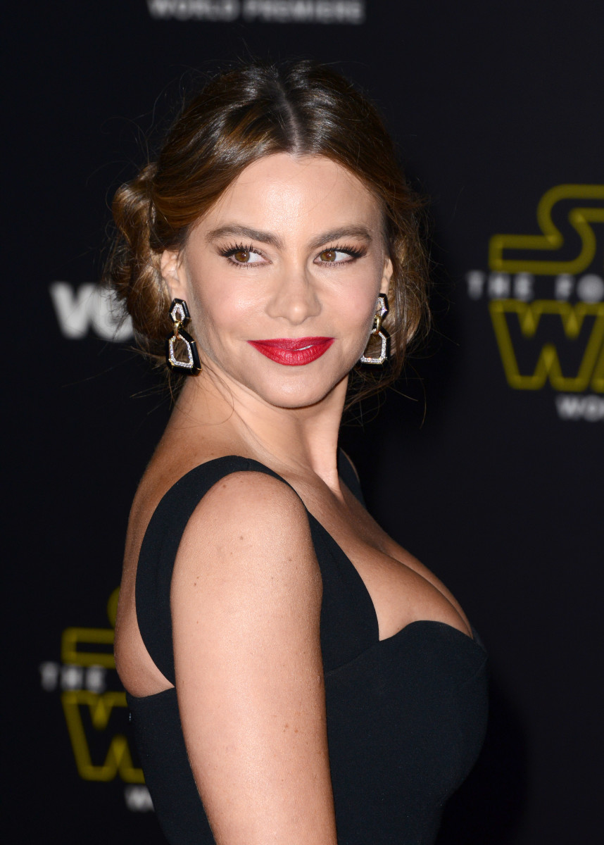 Sofia Vergara, Star Wars The Force Awakens Hollywood premiere, 2015