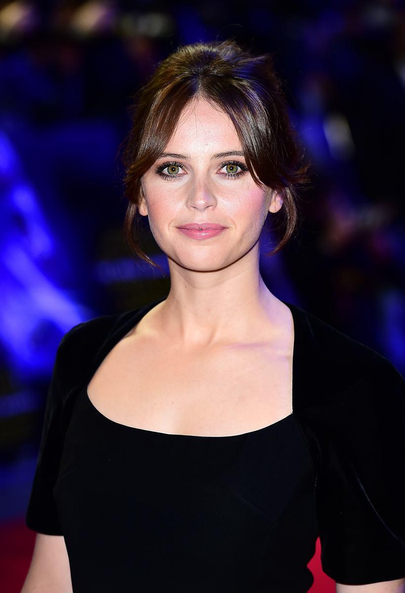 Felicity Jones, Star Wars The Force Awakens London premiere, 2015