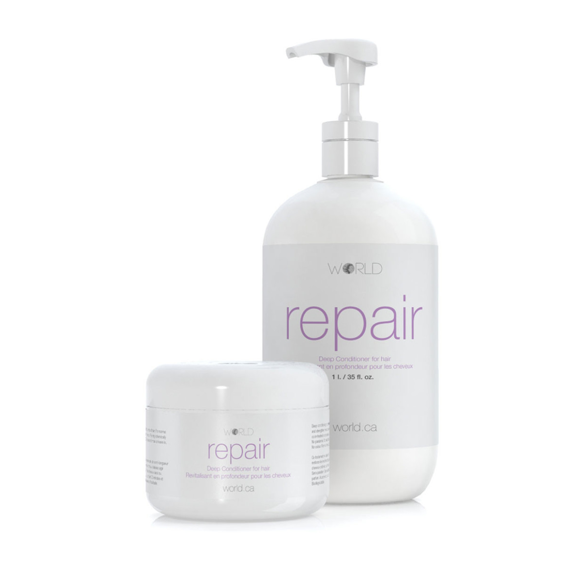 World Repair Deep Conditioner for Hair