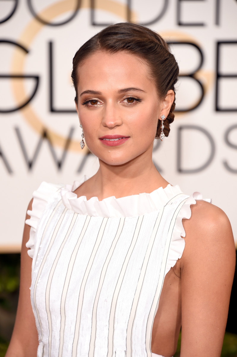 Alicia Vikander, Golden Globe Awards 2016