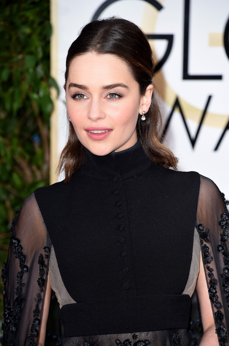 Emilia Clarke, Golden Globe Awards 2016