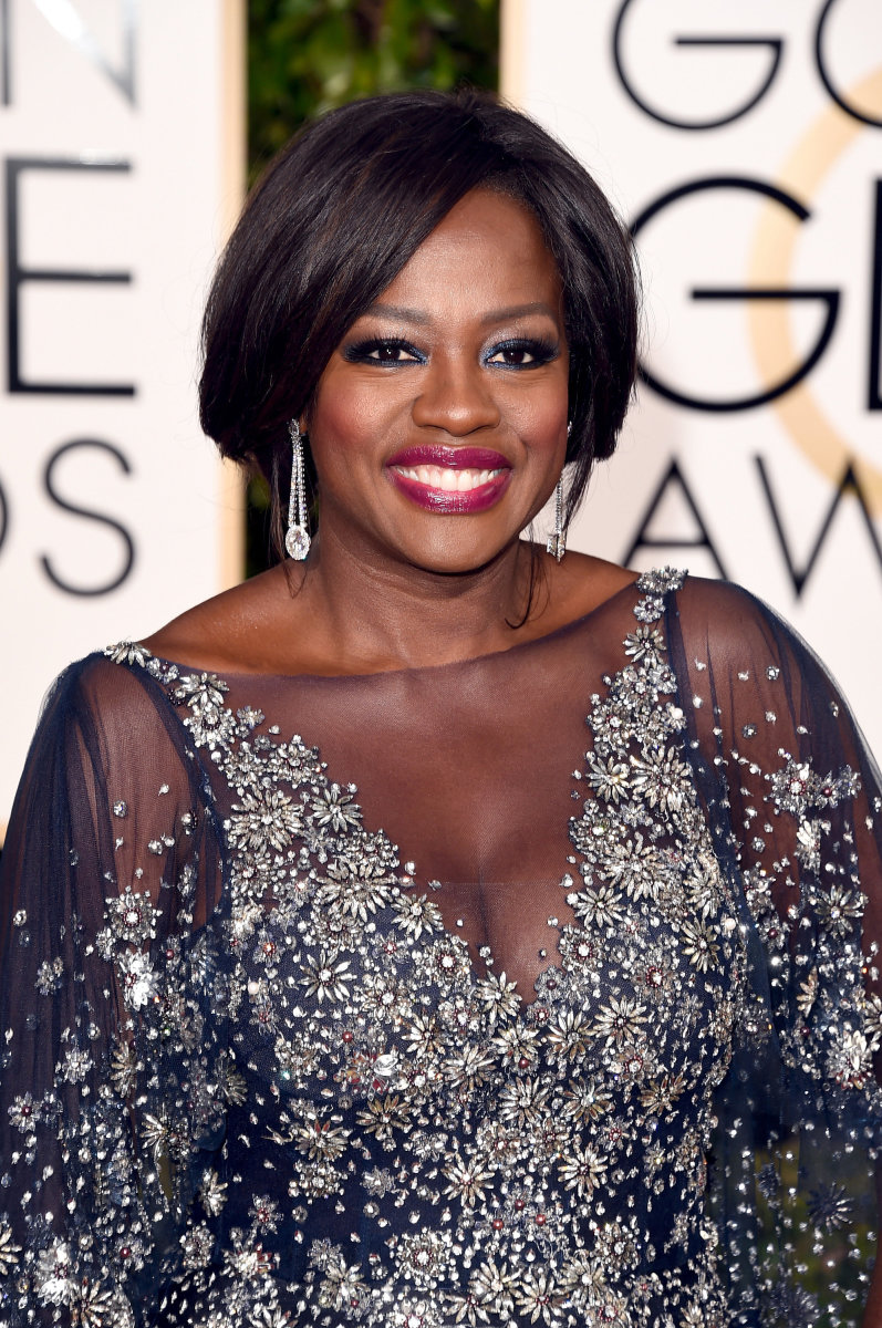 Viola Davis, Golden Globe Awards 2016