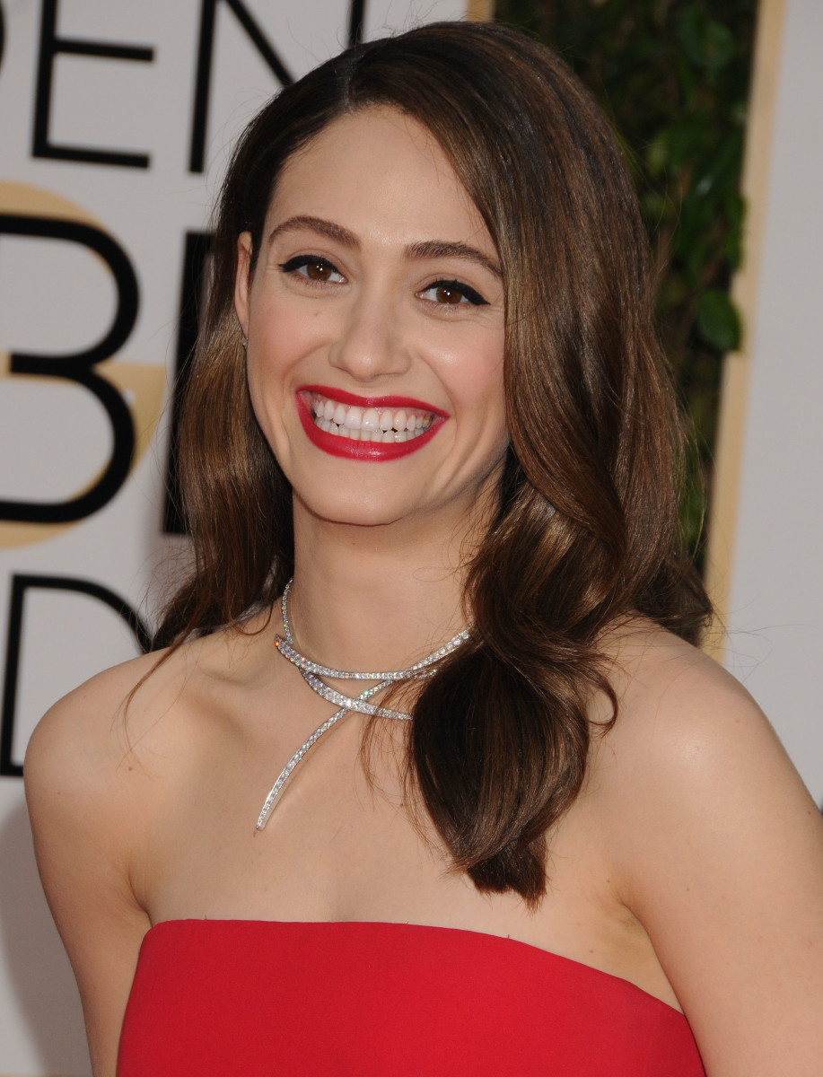Emmy Rossum, Golden Globe Awards 2016