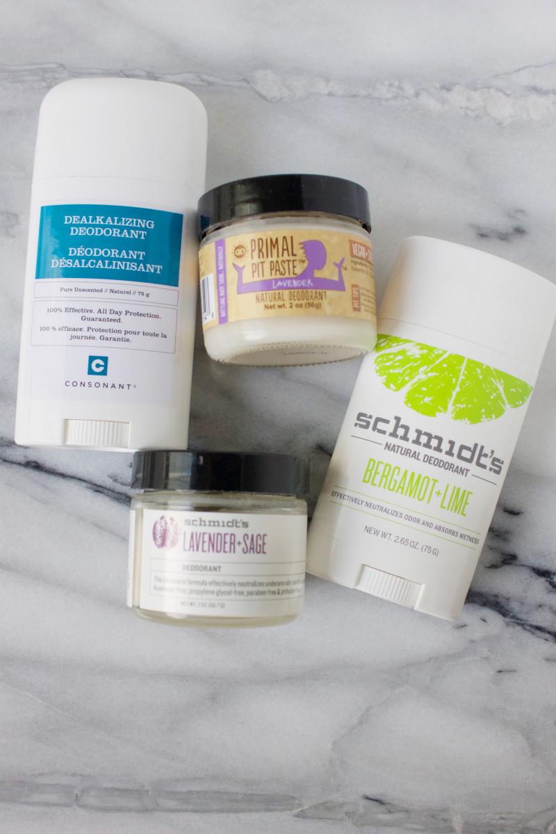 Safe deodorants
