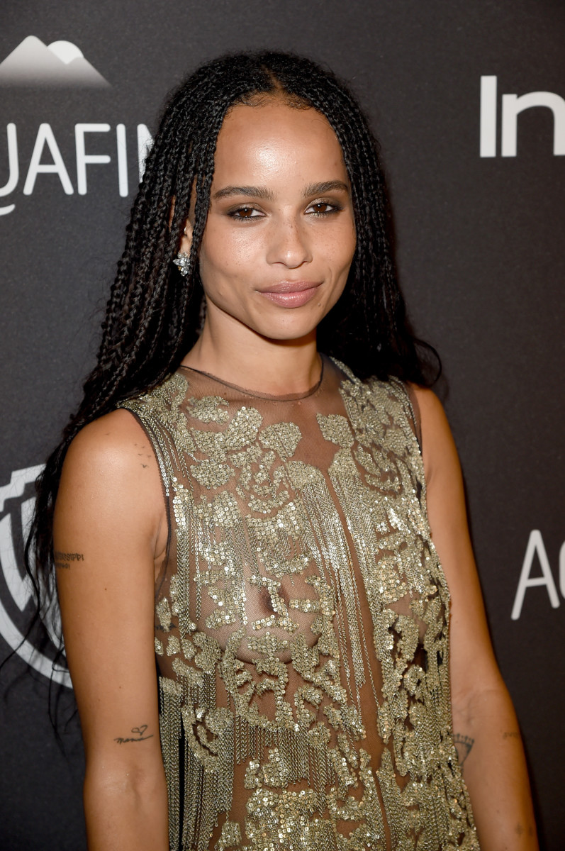 Zoe Kravitz, InStyle and Warner Bros. Golden Globes After-Party, 2016