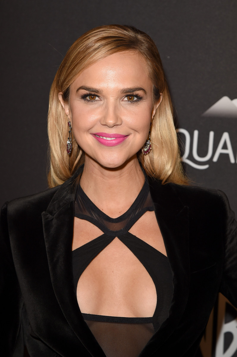 Arielle Kebbel, InStyle and Warner Bros. Golden Globes After-Party, 2016