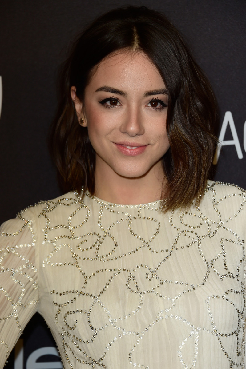 Chloe Bennet, InStyle and Warner Bros. Golden Globes After-Party, 2016