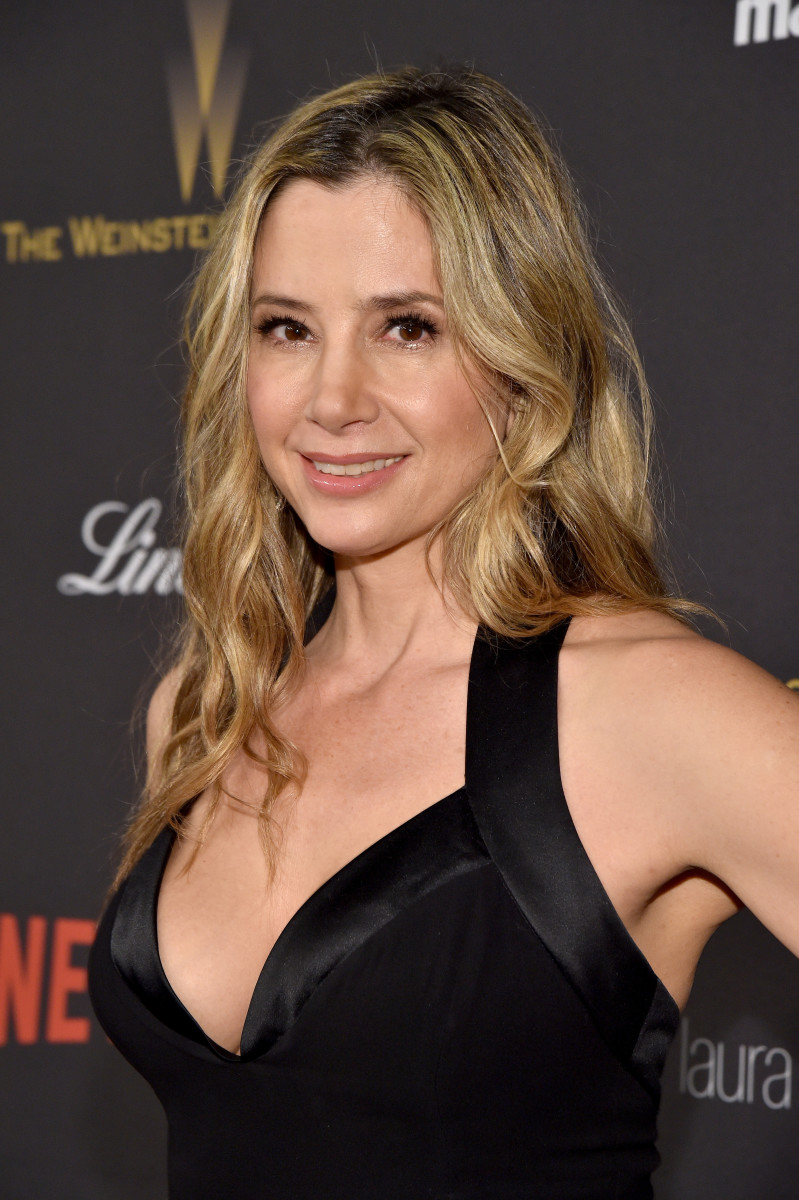 Mira Sorvino, The Weinstein Company and Netflix Golden Globes After-Party, 2016