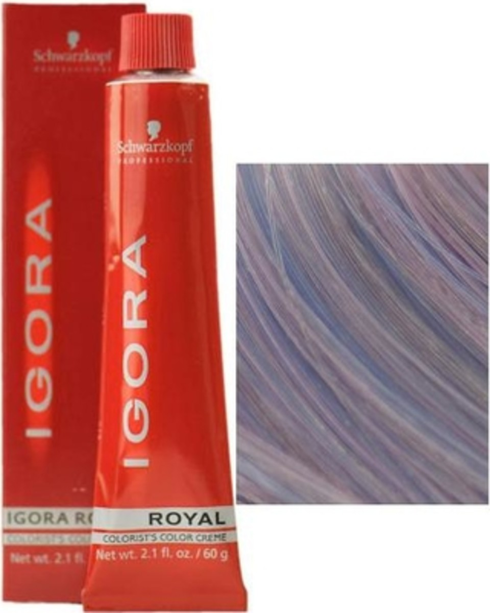 Schwarzkopf Igora Royal Hair Color in 0-11 Anti-Yellow Concentrate