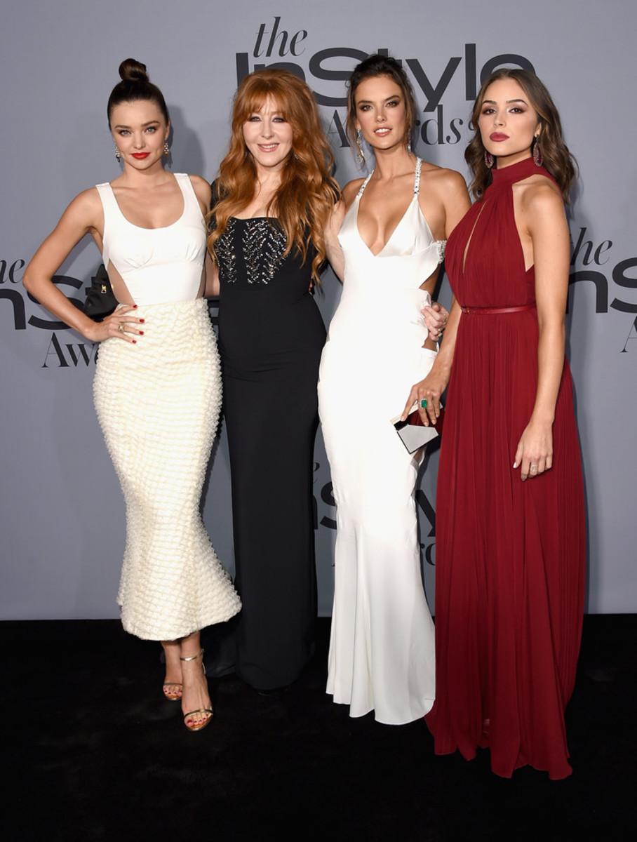 Miranda Kerr, Charlotte Tilbury, Alessandra Ambrosio, Olivia Culpo, InStyle Awards 2015