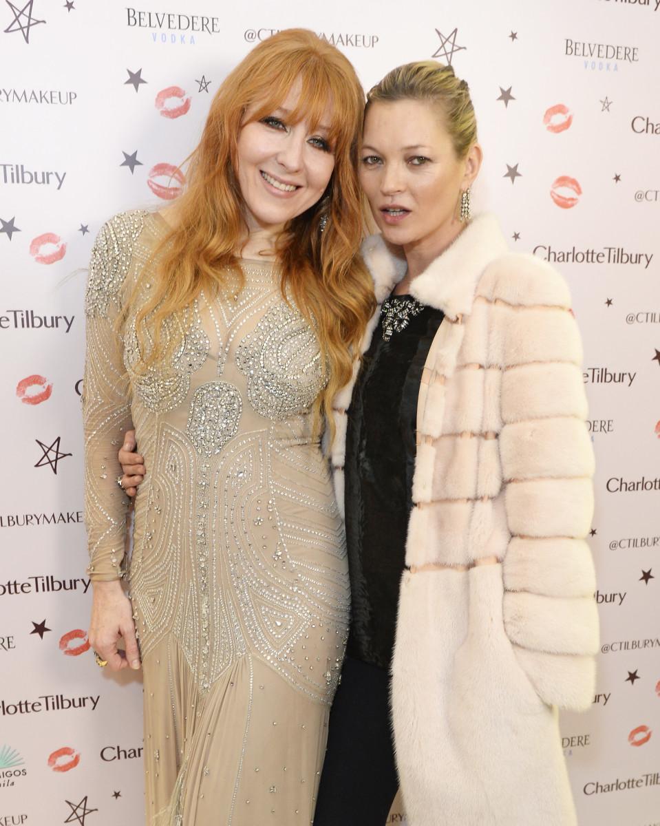 Charlotte Tilbury, Kate Moss, Naughty Christmas party, 2015