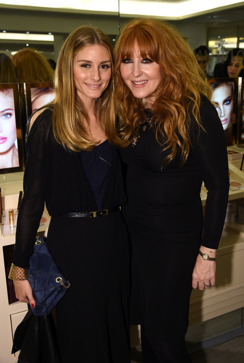 Olivia Palermo and Charlotte Tilbury, Charlotte Tilbury Arrives in America event, 2014
