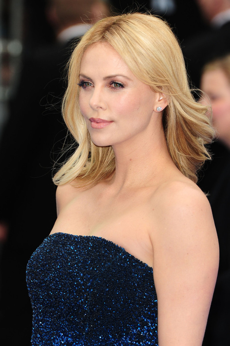 Charlize Theron, Prometheus London premiere, 2012