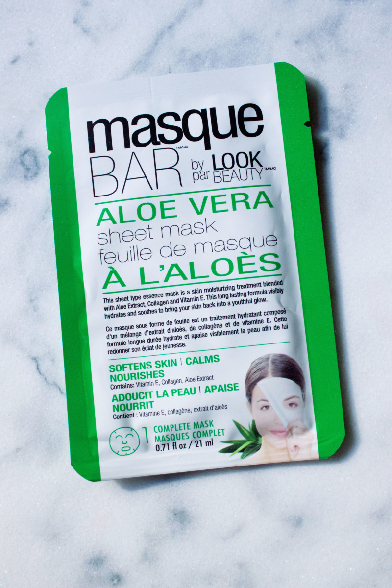 Masque Bar by Look Beauty Aloe Vera Sheet Mask