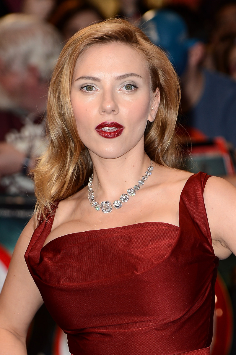 Scarlett Johansson, Captain America The Winter Soldier London premiere, 2014