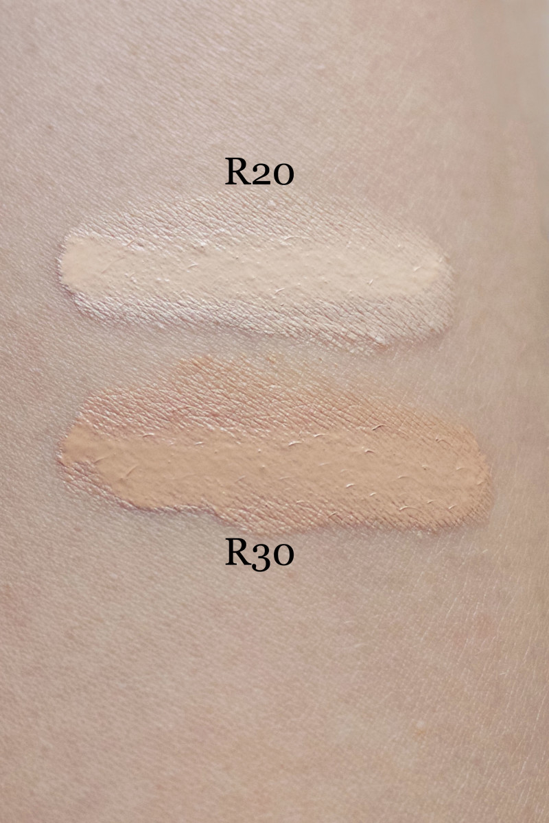 Make Up For Ever Ultra HD Concealer (unblended swatches)