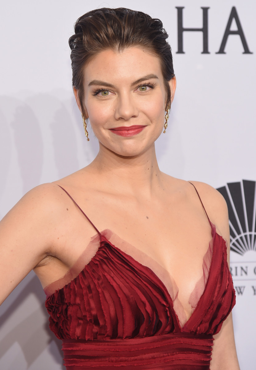 Lauren Cohan, amfAR New York Gala, 2016