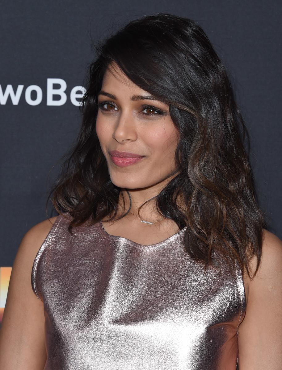 From Freida to Brie: 15 of the Most Gorgeous Beauty Looks ... Freida Pinto
