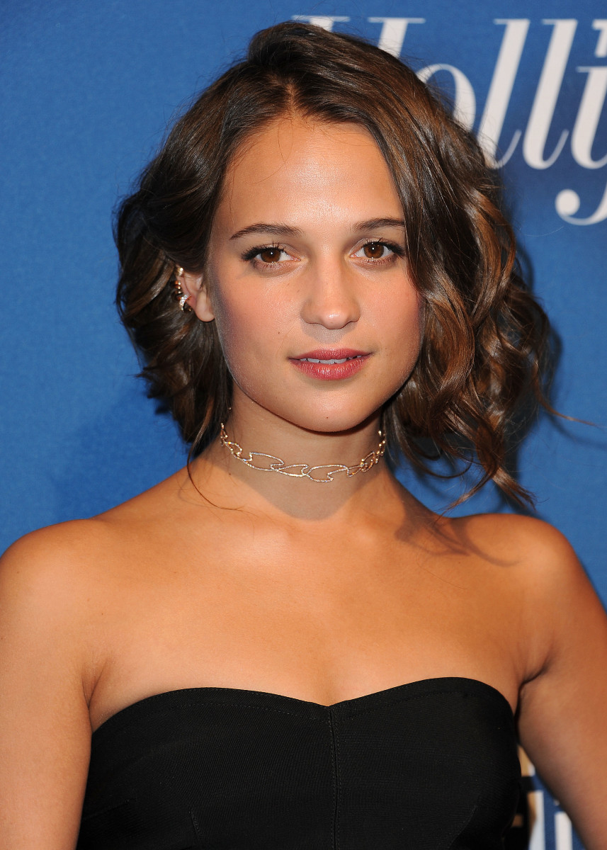 Alicia Vikander, The Hollywood Reporter Nominees Night, 2016