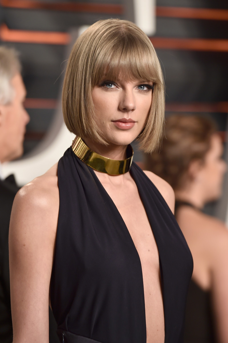 Taylor Swift, Vanity Fair Oscar party, 2016