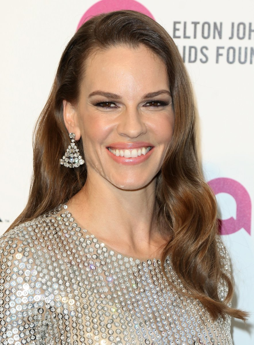 Hilary Swank, Elton John AIDS Foundation Academy Awards viewing party, 2016