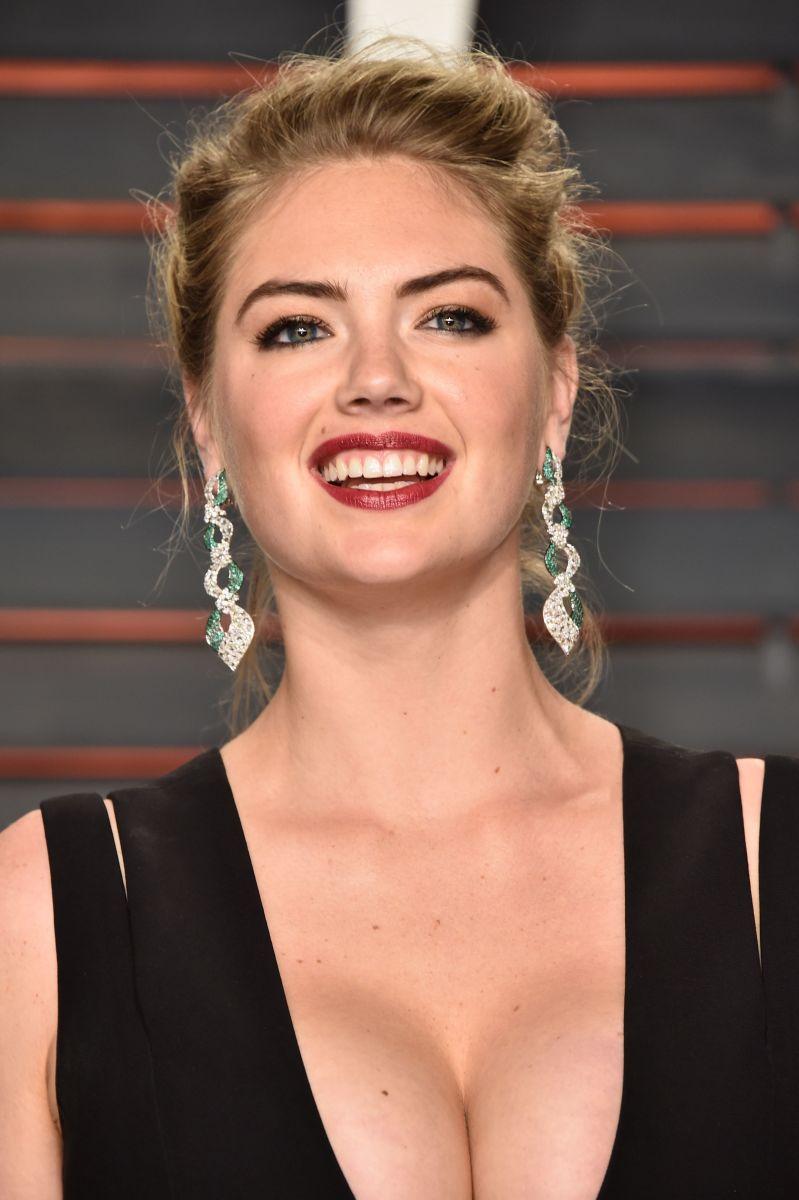 Kate Upton, Vanity Fair Oscar party, 2016