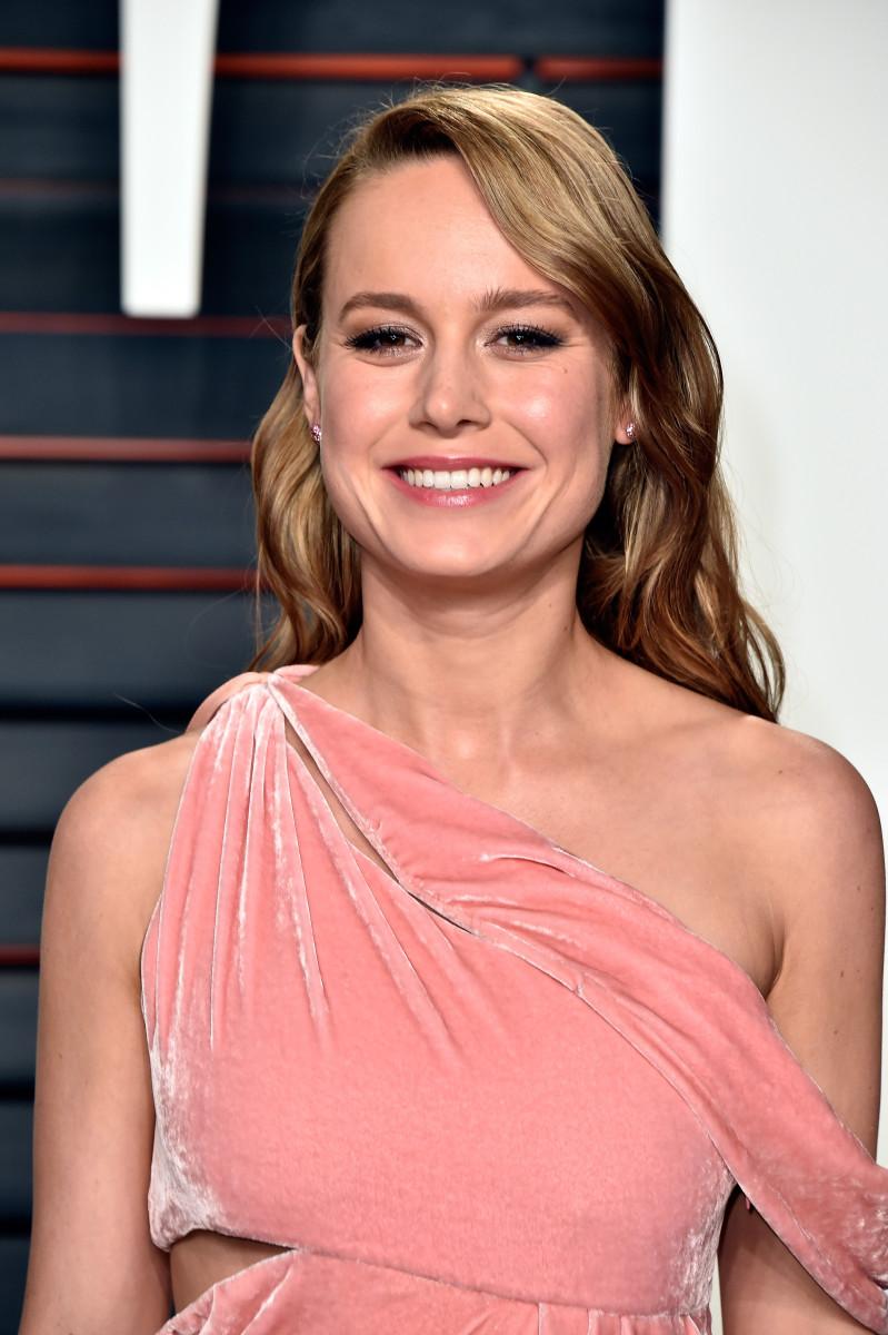 Brie Larson, Vanity Fair Oscar party, 2016