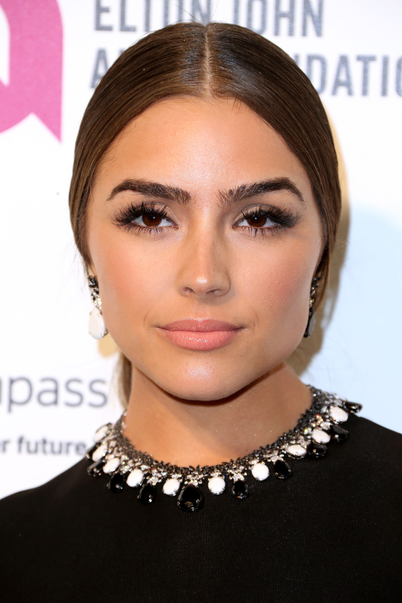 Olivia Culpo, Elton John AIDS Foundation Academy Awards viewing party, 2016
