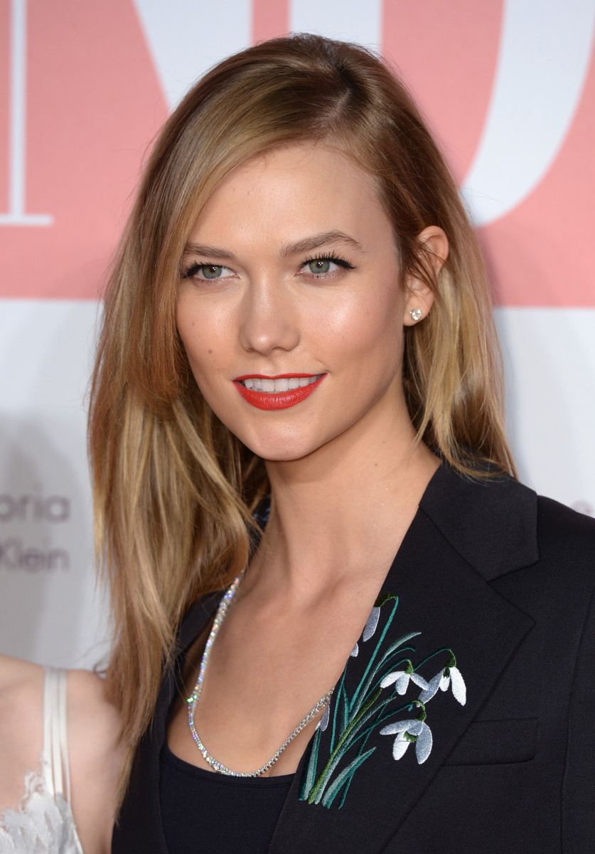 Karlie Kloss, Naked Heart Foundation party, 2016