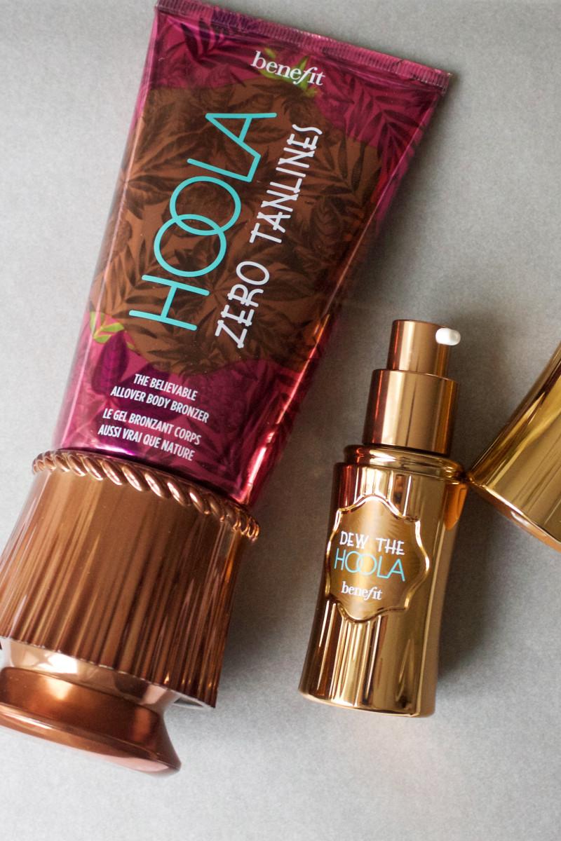Benefit Hoola Body Bronzer and Dew the Hoola