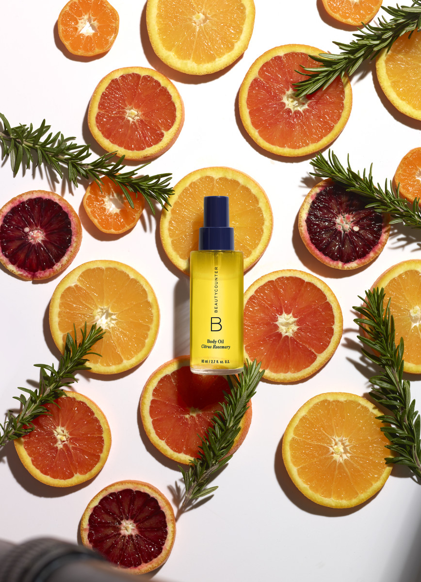 Beautycounter Body Oil Rosemary Citrus