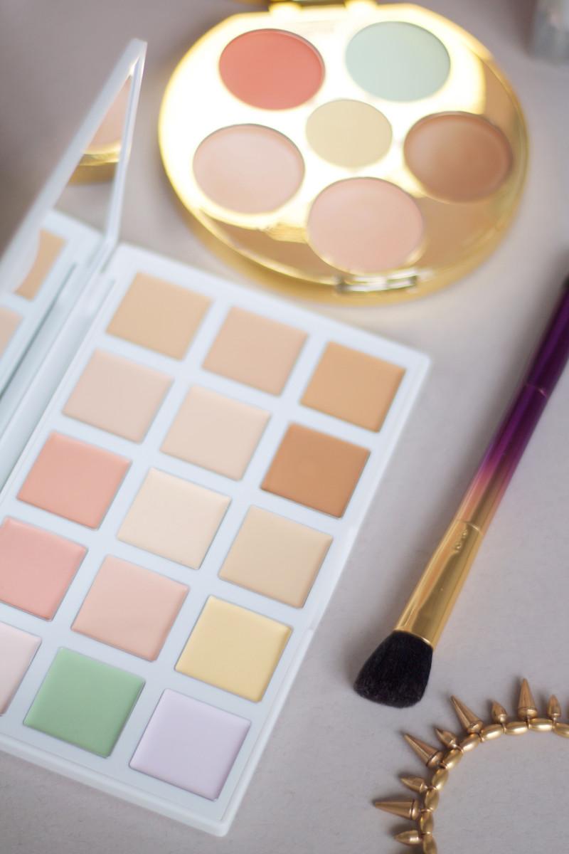 Colour correction palettes