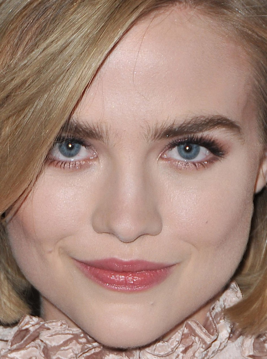 Maddie Hasson, I Saw the Light premiere, 2016