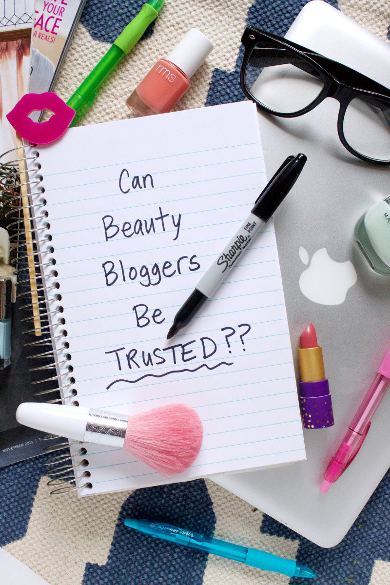 Dishonest beauty bloggers