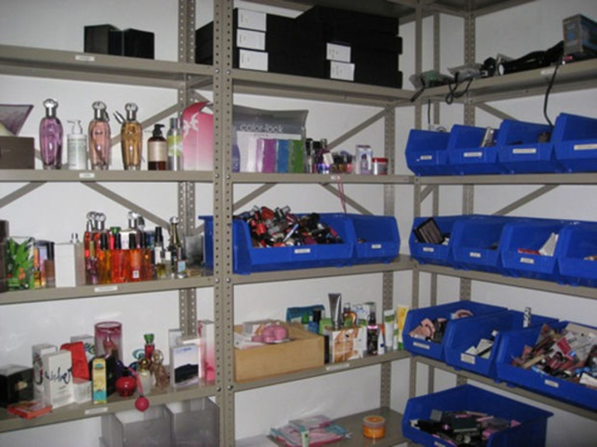 Teen Vogue beauty closet