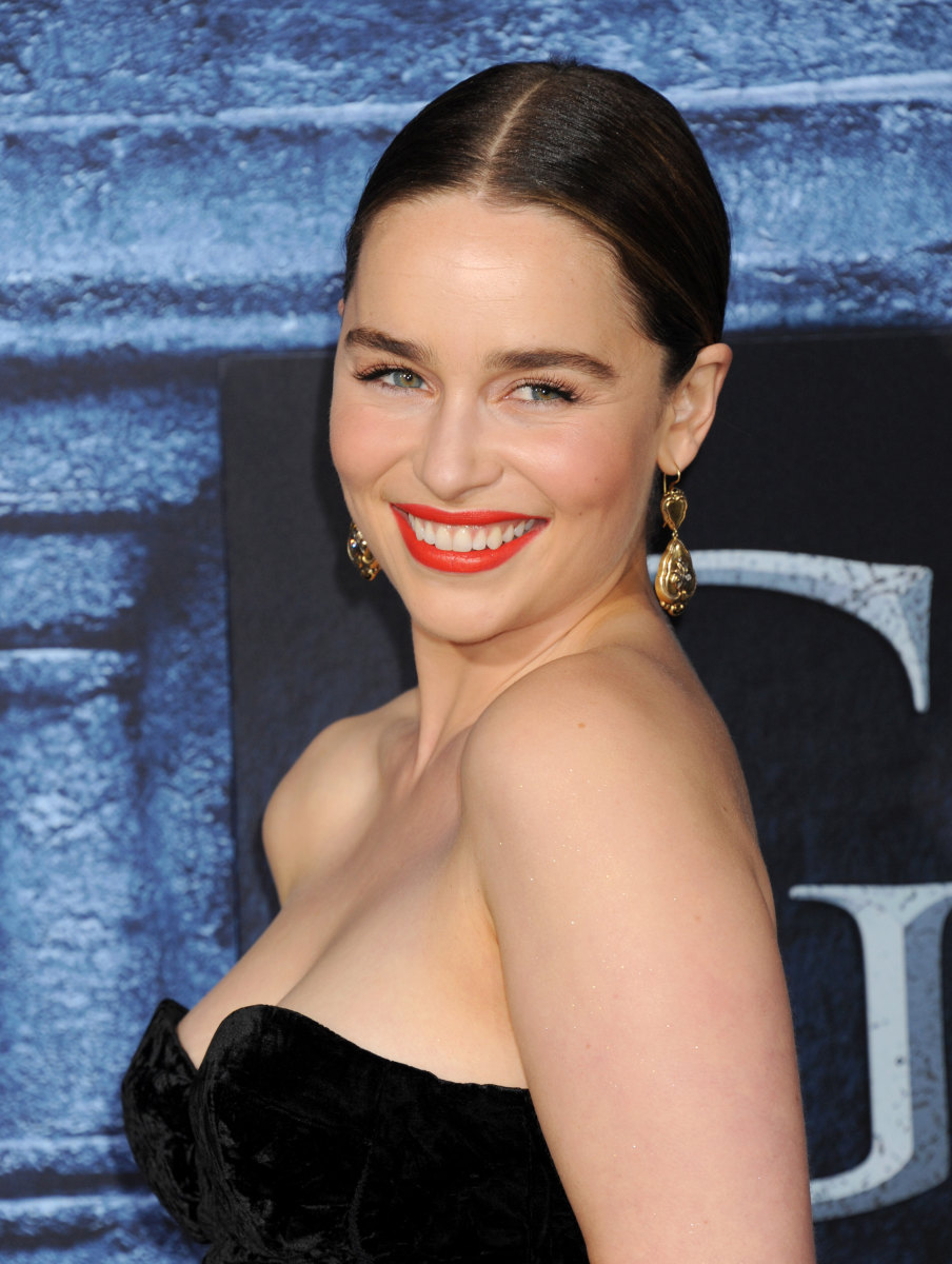 Emilia Clarke, Game of Thrones Season 6 premiere, 2016