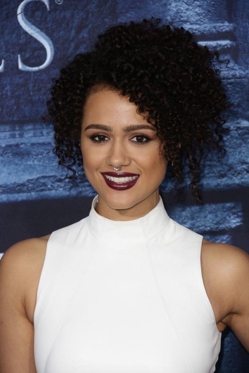 Nathalie Emmanuel, Game of Thrones Season 6 premiere, 2016