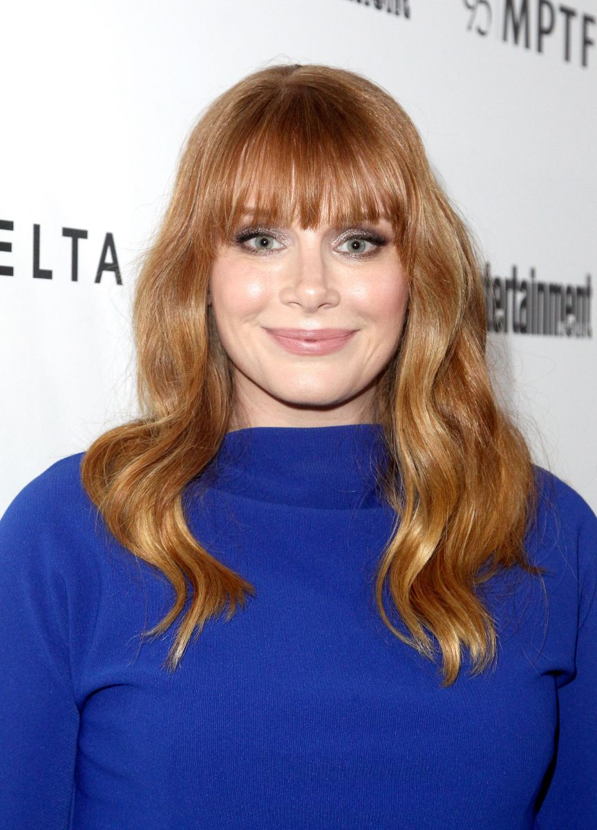 Bryce Dallas Howard, Reel Stories Real Lives event, 2016