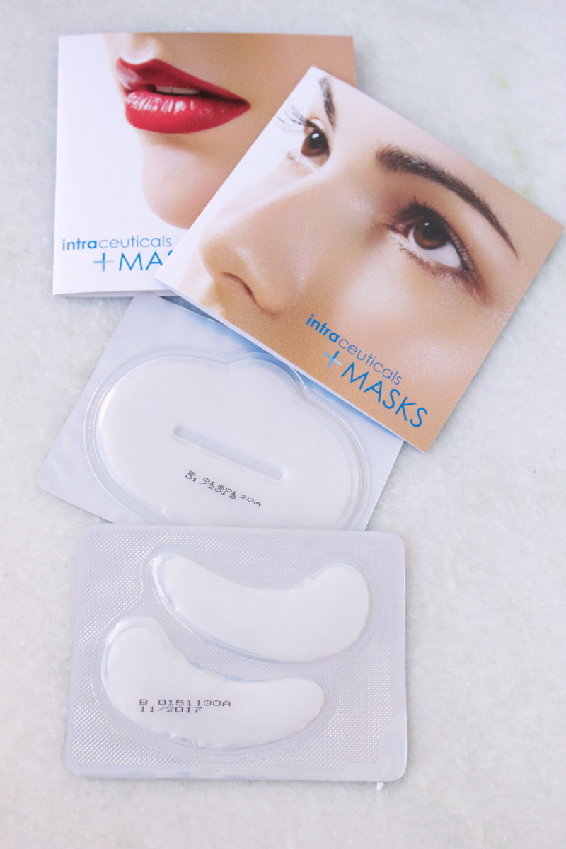 Intraceuticals Eye Mask and Lip Mask