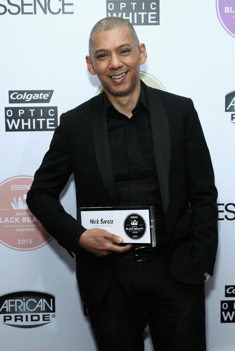 Nick Barose, Essence Best in Black Beauty Awards, 2015