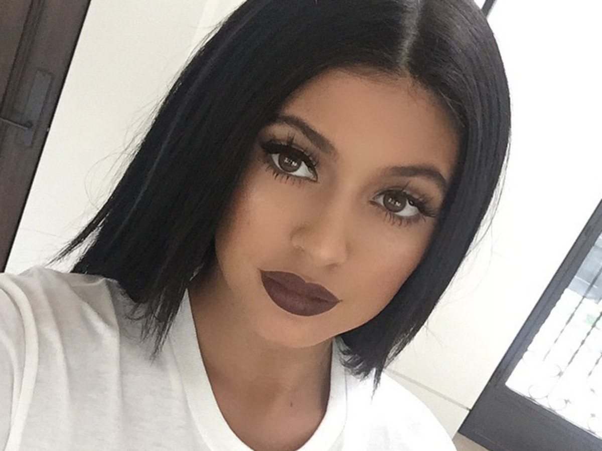 Kylie Jenner matte makeup