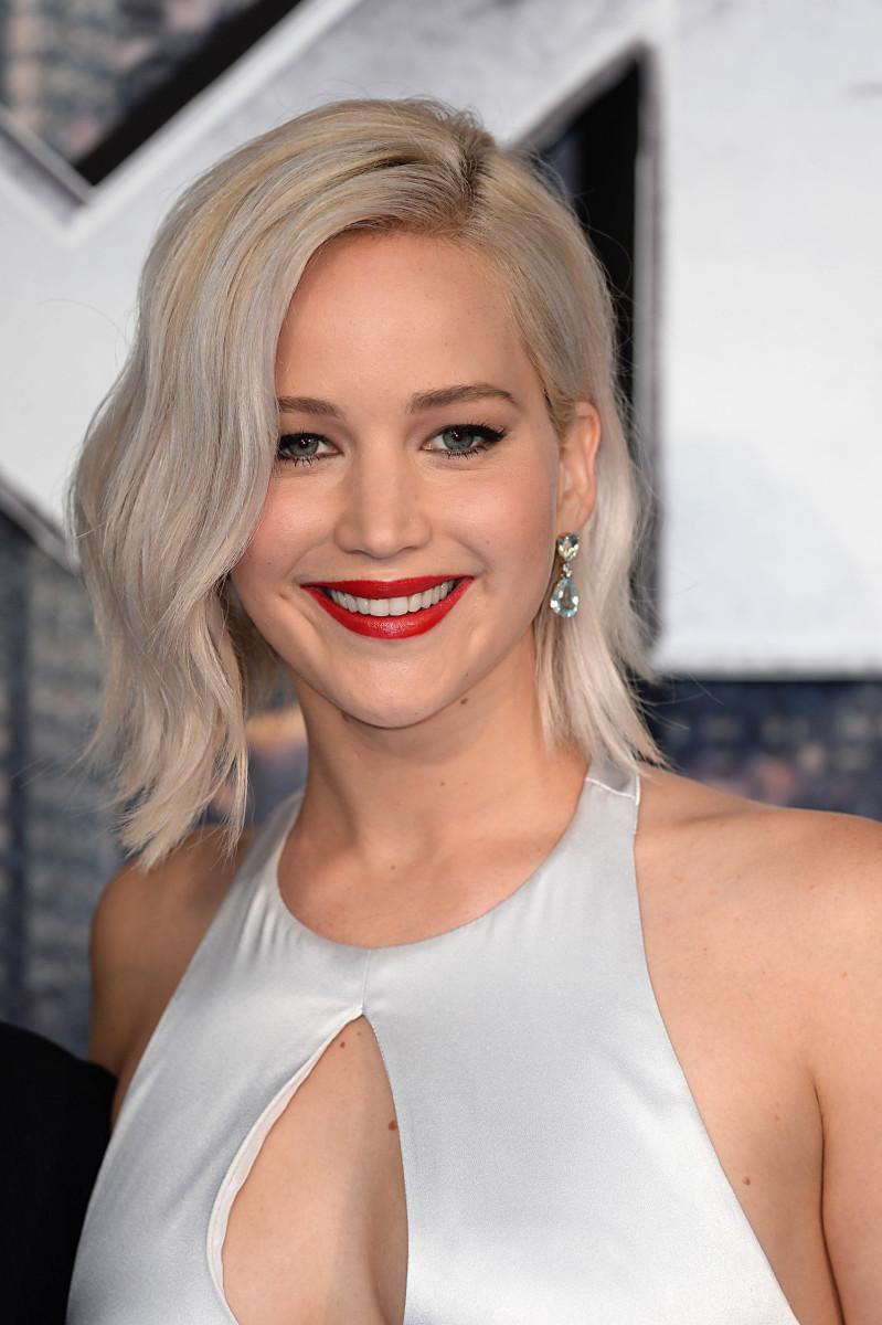 Jennifer Lawrence, X Men Apocalypse London premiere, 2016