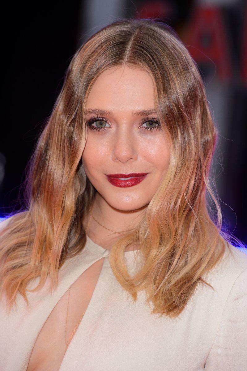 Elizabeth Olsen, Captain America Civil War London premiere, 2016