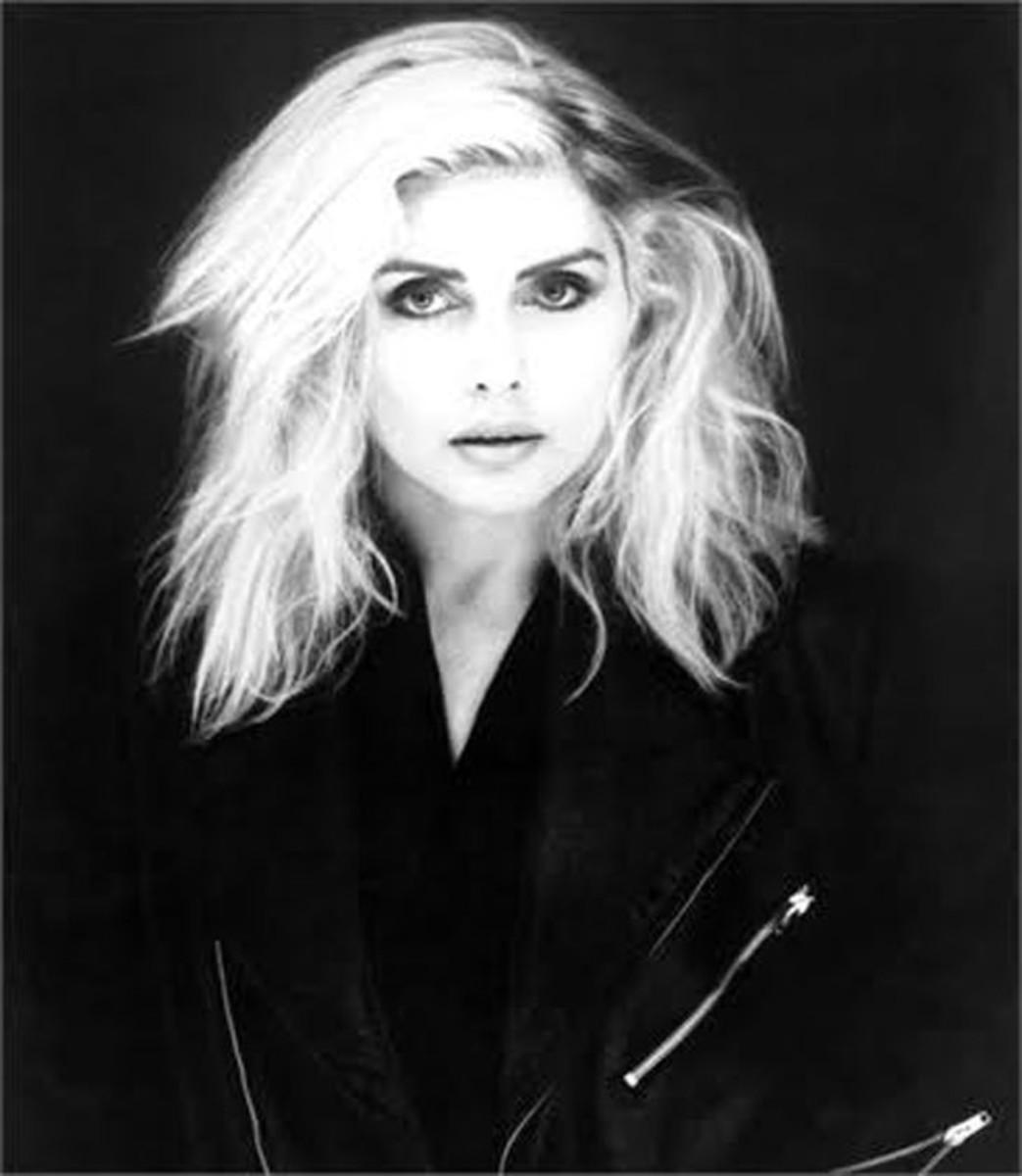 Debbie Harry layered hair