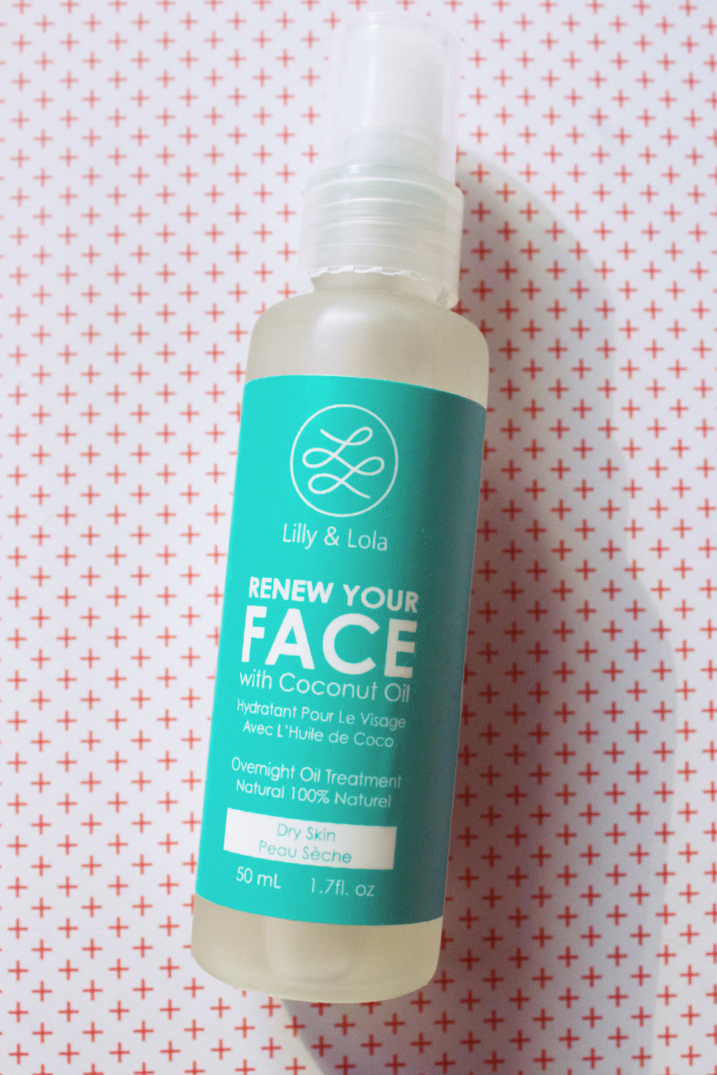 Coconut face oil