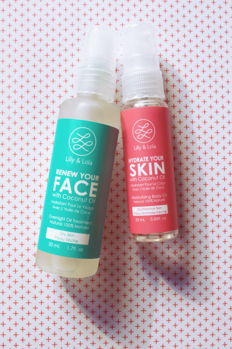 Coconut face and body oil